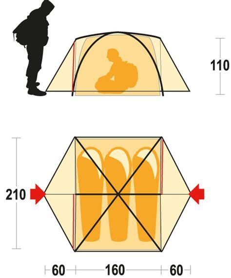 tenda 4 stagioni lhotse 3 di ferrino una tenda 4 stagioni in montagna
