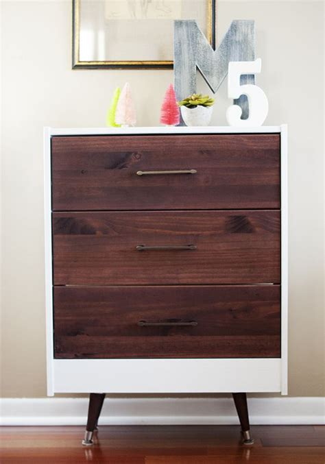 Mid Century Ikea Hack by Ikea Rast Hack Mid Century Modern Inspired With Hickory