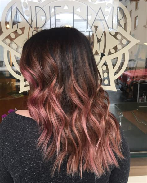 can older women do ombre at home natural rose gold hair color on woman for me pinterest