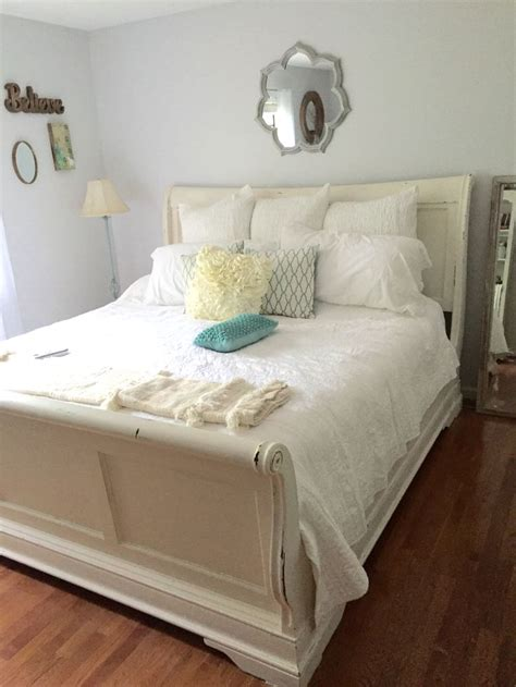 best 25 sleigh bed painted ideas on cherry