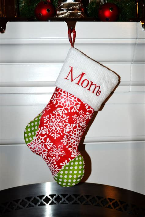 unique christmas stockings personalized christmas stockings embroidered a handmade