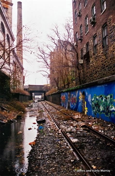 Nyc Wall Murals photos of abandoned port morris branch train tracks in the