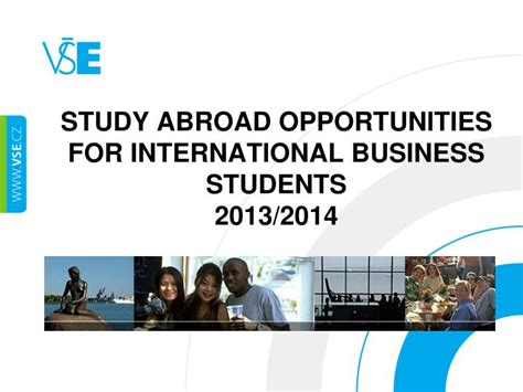 International Mba Programs Abroad by Ppt Study Abroad Opportunities For International