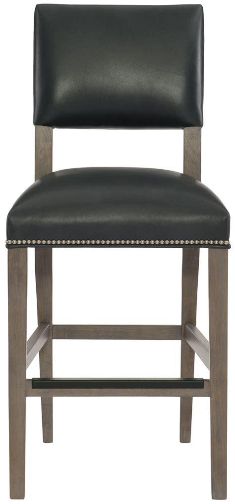 leather counter stool bernhardt