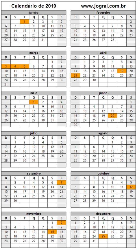 Calendario Yoruba 2015 Calend 225 Ano 2019 Para Imprimir Em Formato Pdf E Imagem
