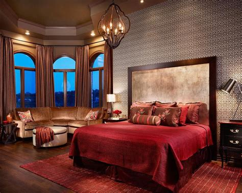 master bedroom red red and gray master bedroom bedroom ideas pictures