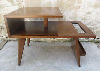 jens risom magazine table reproduction mid century magazine rack end table jens risom modern search furniture