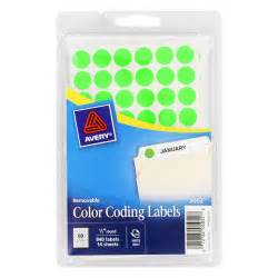 avery color coding labels quot avery handwrite only removable color coding labels