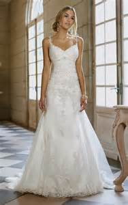wedding dresses with straps a line wedding dress with lace straps naf dresses