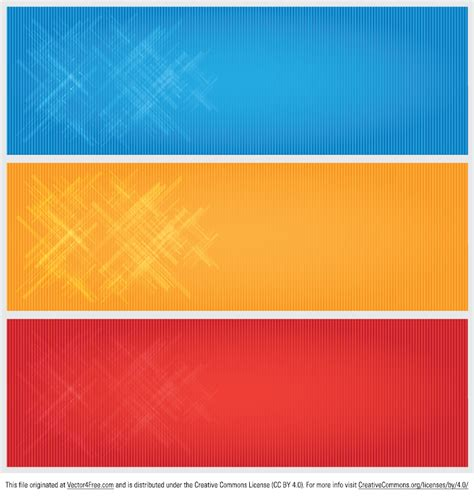 Update 4000 Template Desain Spanduk Banner X Banner Design free bright modern banner vectors