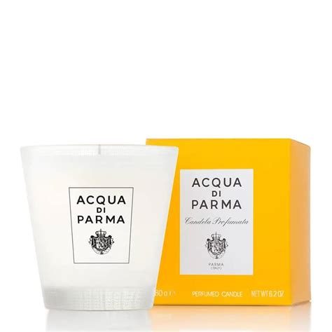 candele acqua di parma acqua di parma colonia glass candle feelunique
