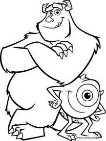 monsters 3 monsters printable coloring pages kids