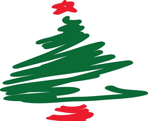 arbol de navidad dibujado dibujo 193 rbol de navidad freehand stock de foto gratis