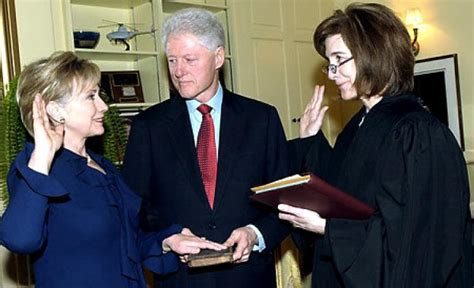 where does hillary clinton work clinton confirmed as secretary of state ny daily news