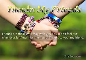 thank you messages for friends say thanks to friends