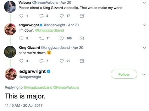 Dyl Wizard King In turns out baby driver s edgar wright fkn himself