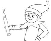 elf shoes coloring pages coloring pages free coloring pages of elf shoe elf on the