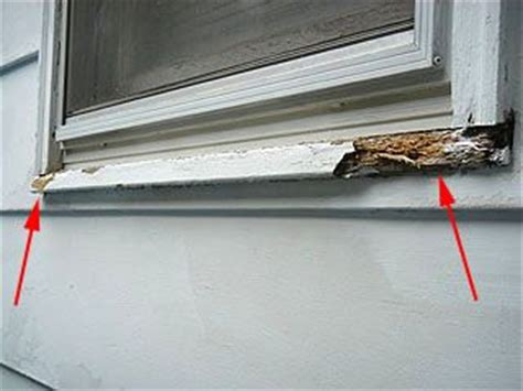 Rotten Window Sill Replace A Wood Window Sill To Fix Rot Damage For The
