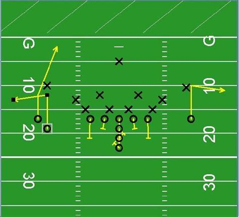 football x and o template football playbook clipart 23