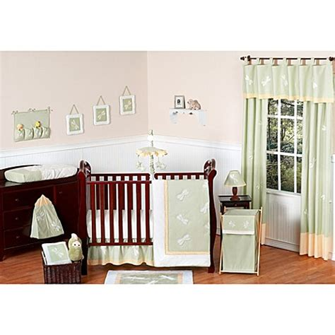 Sweet Dreams Crib Bedding Buy Sweet Jojo Designs Dragonfly Dreams 11 Crib Bedding Set In Green From Bed Bath Beyond