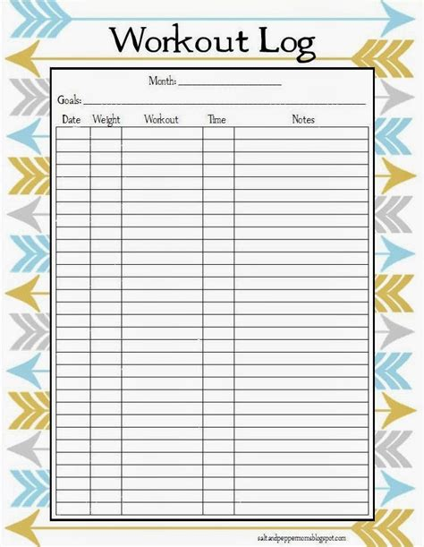 workout diary template printable workout log search results calendar 2015