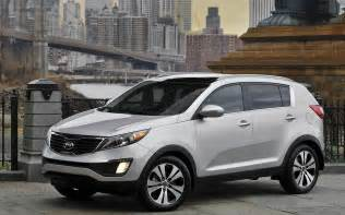 Kia Auto Road Car Kia Sportage 2011 Wallpapers And Images