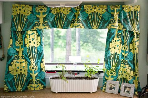 motor home curtains how to remodel a travel trailer rachael edwards