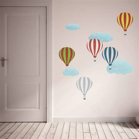 Air Balloons Wall Sticker air balloon wall stickers peenmedia