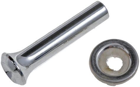 Plastic Door Knobs by Dorman 75402 Door Lock Knob Plastic Chrome Each Ebay