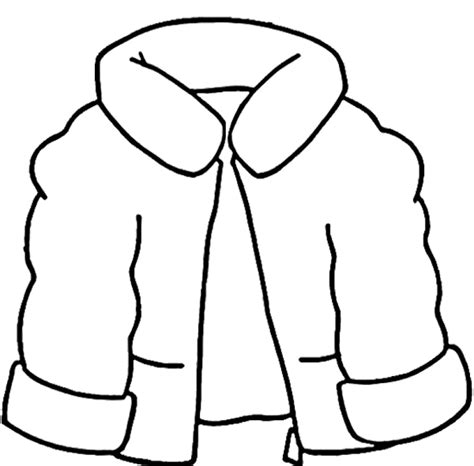coloring page jacket quot the jacket i wear in the snow quot winter coat coloring page