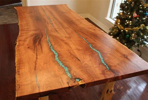 Mesquite Tables With Turquoise Inlay Tyres2c