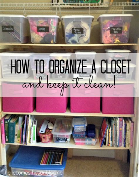 How To Organize Your Room And Closet by How To Organize A Closet Here Comes The Sun
