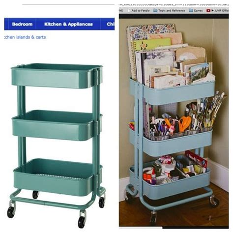 ikea craft cart 17 best images about tidy desk ideas on pinterest