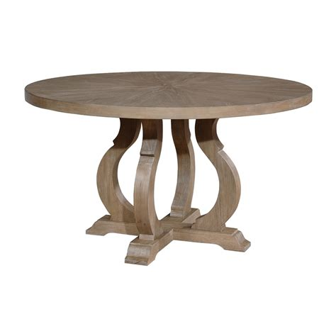 brown wood dining table shop living barley brown wood dining table at