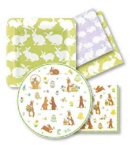 easter napkins easter paper plates and napkins easter decorations