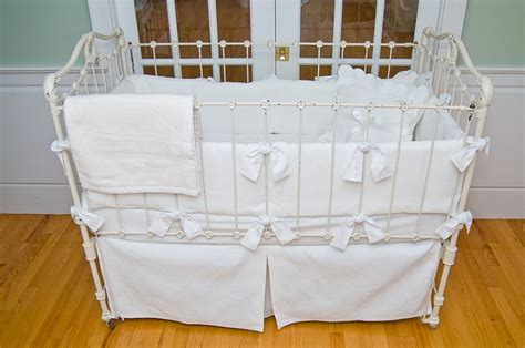 William Crib Bedding by Matelasse Crib Bedding White By Sweet William Featured At Babybox