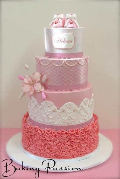Pretty Baby Shower Cakes by Baby Cake Welcome One Baby Shower Cakes