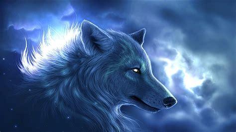 wolf fantasy art animals wallpapers hd desktop