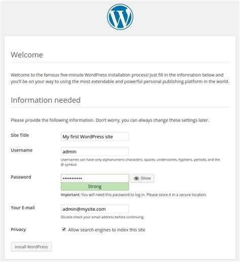 wordpress tutorial codex wordpress tutorial site configuration by codexworld