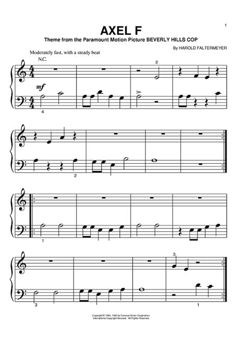alex f axel f sheet music music for piano and more