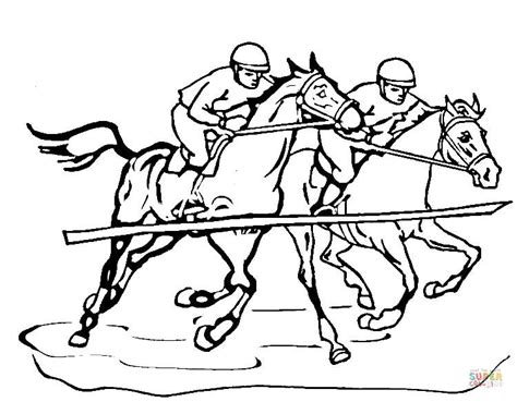 coloring pages of race horses race horse coloring page free printable coloring pages