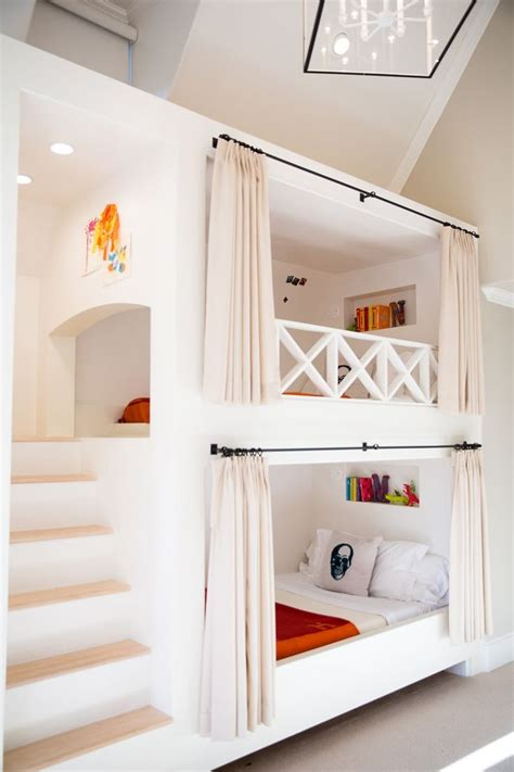 Built In Bunk Bed Designs 1000 Ideas About Bunk Bed On Pinterest Bed Ideas Beds And Bunk Beds