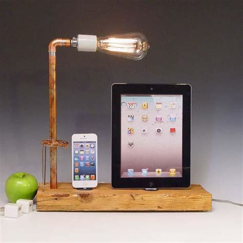 diy ipad charging station the handmade docking station with table l for iphone