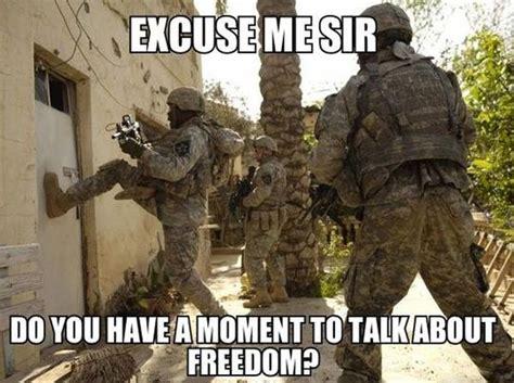 Soldier Meme - excuse me sir
