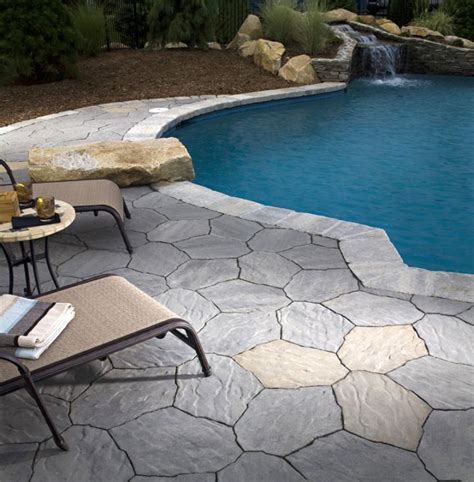 pool deck stone 20 fresh and natural pool deck stone inspirations
