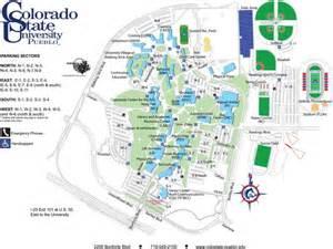 colorado college cus map colorado state pueblo eduseek