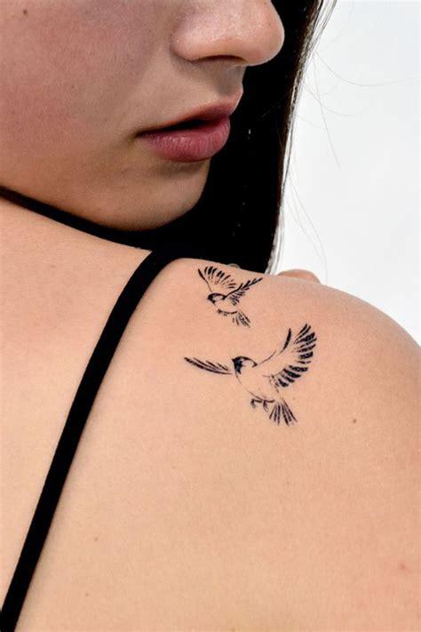 small sparrow tattoos sparrow on shoulder ideas