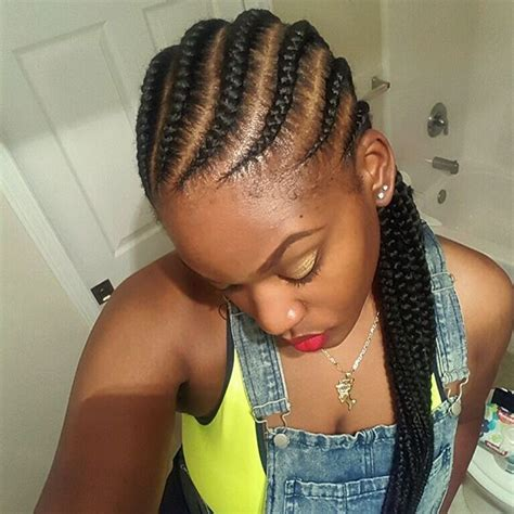 Celebrity Ghana Weaving Hairstyles | nigerian ghana weaving styles for round faces