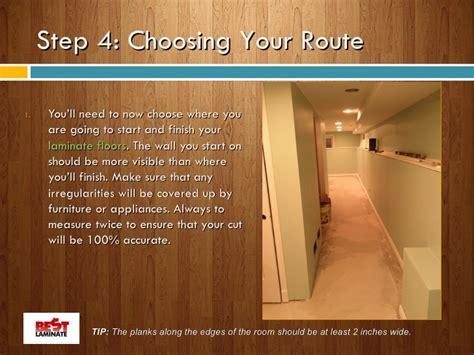 Laminate Flooring Where To Start How To Start Laminate Flooring