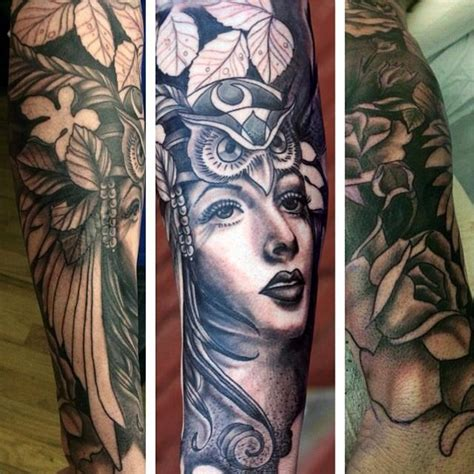 nature quarter sleeve tattoo mother nature half sleeve by canyon webb tattoonow